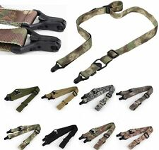 1&2 One/Two Point Military Tactical Sling Hunting Rifle Gun Multi-Mission Strap