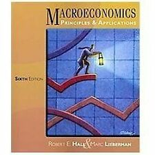 Macroeconomics - Principles and Applications 6th (BRAND NEW) by Hall & Lieberman