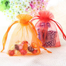 7*9cm Sheer Organza Wedding Party Favor Decoration Gift Candy Pouch Bags  100PCS