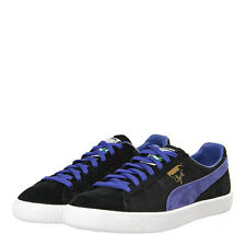 "New Mens Puma  Clyde ""OG Pack"" Trainers - Black Suede"