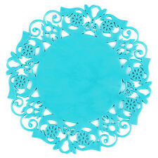 Sweet Flower Lace Cute Colorful Coaster Cup Mat Drink Placemat 6 Color Available