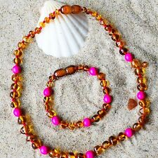 Amber teething necklace. Baltic amber. Amber teething necklace. Genuine Baltic