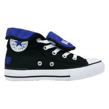 Juniors CONVERSE CT SUPER HI Black Canvas Trainers 632538C