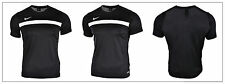 Nike Dry Academy Men's Black Tshirt Training Football Top Dri-fit Tech Mesh Back