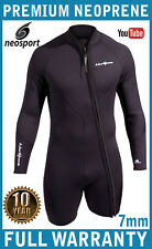 7mm Mens Wetsuit Jacket NeoSport Diving Wetsuit Combo Wetsuit Top - FREE SHIP