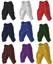 Alleson Athletic Integrated Youth Boys Dazzle Game Football Pants W/ Pads 688DY