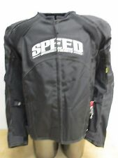 Speed and Strength Twist of Fate Motorcycle Jacket Black X-Large XL 877541
