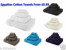 100% Egyptian Cotton Luxury Combed  Bath Towels Bath Sheets Hand Towels 700 GSM