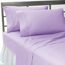 US Home Bedding Collection 1000 TC 100%Egyptian Cotton Lavender Cal-King Size