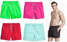 Men's Swimming Shorts H&M Swim Shorts Solid Colour NEW