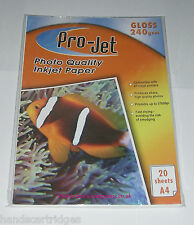 Projet Photo Paper Full Range from Glossy, Gloss / Matte, Double Sided,