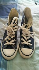 Converse Size 3 blue high tops All Stars