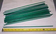 "New Green 15"" Wood Plant Stakes Florist Craft Garden Choice Amt 25/100/250/500"