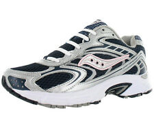 Saucony Grid Cohesion 3 Athletic Womens Running Shoes Navy/silver/pink Size
