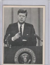 1964 TOPPS JOHN F. KENNEDY'S CARDS U - PICK COMPLETE YOUR SET