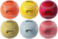 Markwort Weighted Leather 12 Inch Softball - Training, Practice, Strength Ball