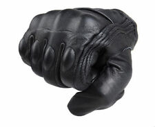 M L XL Motorcycle Riding Racing Bike Protective Armor Short Leather Solid Gloves