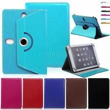 "360 Rotate Universal Leather Stand Cover Case For 7'' ~ 7.9"" Android Tablet PC"