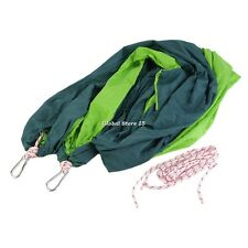 Double Hammock Camping Survival Hammock Parachute Cloth Portable 260x150cm GS