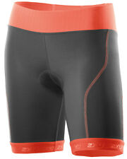 NEW 2XU TRI SHORTS WOMEN PERFORM SMALL S TRIATHLON TRAINING CYCLING CHARCOAL