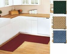 Kitchen Non Slip Berber L Shaped Corner Runner Rug 68x68 Rugs 4 Color Choices