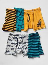 GAP KIDS UNDERWEAR BOXER BRIEFS BOYS PACK OF 5 GATOR SIZE S M L XL XXL NEW