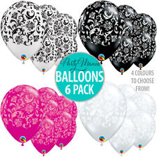 PARIS DAMASK LATEX BALLOONS DECORATIONS WEDDING ENGAGEMENT PARTY SUPPLIES