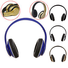 Foldable Wireless Stereo Bluetooth Headphone FM TF Headset w/ Mic for Cellphone