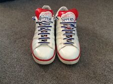 Adidas LA Clippers Trainers UK Size 9 Red/White/Blue RARE NBA Series