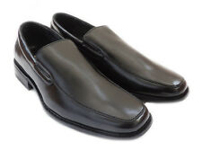 "NEW ""DELLI ALDO"" MENS LOAFERS SLIP ON COMFORT LEATHER LINED DRESS SHOES / BLACK"
