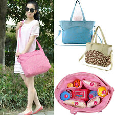 Baby Diaper Nappy Changing Shoulder Bag Handbag Mummy Outdoor Carry Bag Tote New