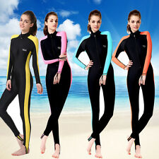 Long Sleeve Surfing Full Body Rash Guard Scuba Suit Lycra Jumpsuit Swimwear