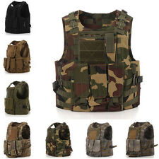 UK SWAT Tactical Military Army Paintball Airsoft Combat Assault Adjustable Vest