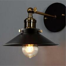Vintage Industrial Wall Lamp Light Retro Copper Metal Adjustable Wall Fixtures
