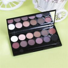 New 12 Color Eye Shadow Makeup Cosmetic Shimmer Matte Eyeshadow Palette Set Kit