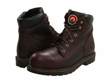 """RED WING Mens Irish Setter 6"""" EH Aluminum Toe Work Boots Brown Leather 83604"""