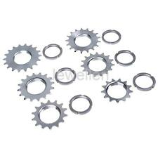 Fixie Track Sprocket Fixed Gear Single Speed Cog Threaded Lock Ring