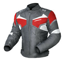 Dririder Climate Control Pro 3 Supersports Vented Mens Jacket Black/Red XS - 6XL