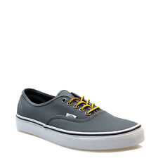 Vans Mens Womens Trainers Canvas LaceUp Authentic Hiker Gargoyle Grey Shoes