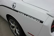 Dodge Challenger 2011-2017 SXT Side Graphics Stripe 3M Install Decals | EE3745