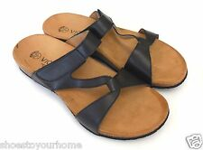 Vionic Orthaheel Pamplona Leather Slide Sandal w/ Arch Support