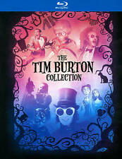 Tim Burton Collection Blu-ray 7-Disc Set w/ Book 2012 Beetlejuice Depp Batman