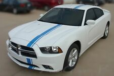E-RALLY Vinyl Graphics Stripe 3M Decals fits Dodge Charger 2011-2014 3M EE1716