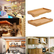 Wooden Bamboo Comport Creative Serving Tray Hotel Household Tea Fruit Food Plate