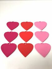 Plastic Balloon Weights Heart Shape Choose Colour For Helium & Latex Balloons