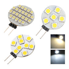 G4 5050/1210 SMD 6/9/12/24 LED Light Pure White Home Car Marine Boat Bulb T1