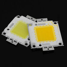 High Power White LED Lamp Light COB SMD Bulb Chips DIY 10W 20W 30W 50W 100W