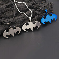 New Fashion Pendant Necklace Super Hero Batman Chain Stainless Steel