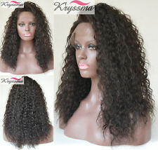 Human Hair Curly Lace Front/Full Lace Wigs 6A Indian Remy Hair Glueless Lace Wig