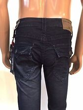 Nwt! TRUE RELIGION MEN'S RICKY STRAIGHT WFLAP CORDUROY PANTS, SZ 28,30, AUTHENTI